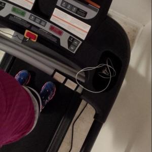 6 k treadmill run