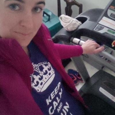 treadmill run IG
