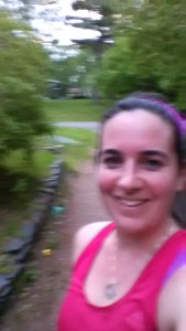 Post Run {blurry) Happy :)