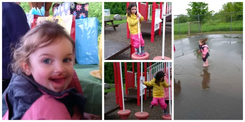 playground birthday party fun