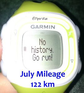 garmin july mileage