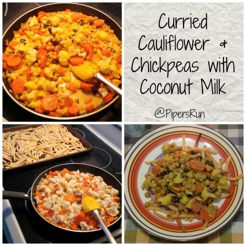 curried cauliflower coconut milk PR