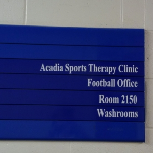 No more Acadia Sports Therapy Clinic for me!