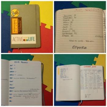 PR Running Log Book