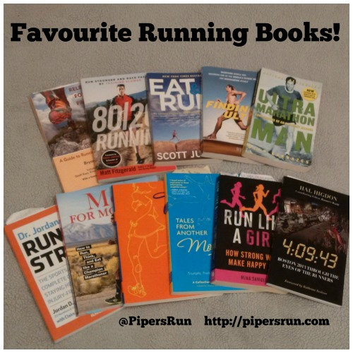 Favourite Running Books PR