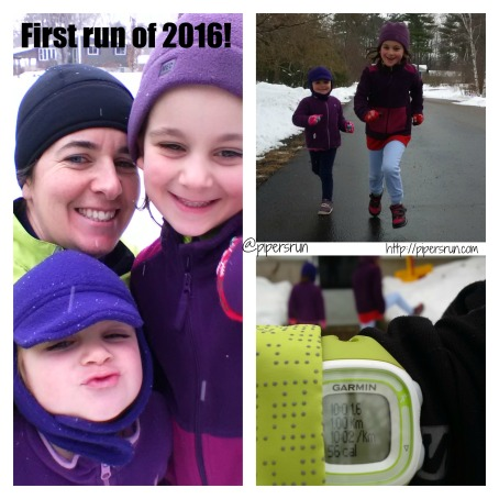 1st run of 2015 with girls