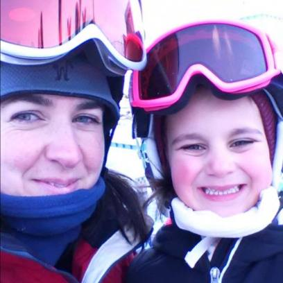ski jan 14 Lilly and Mommy