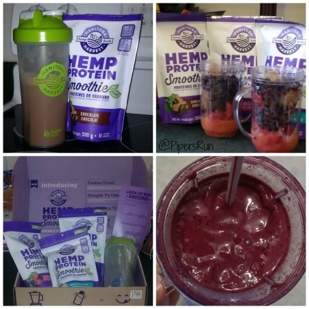 hemp heart protein smoothie