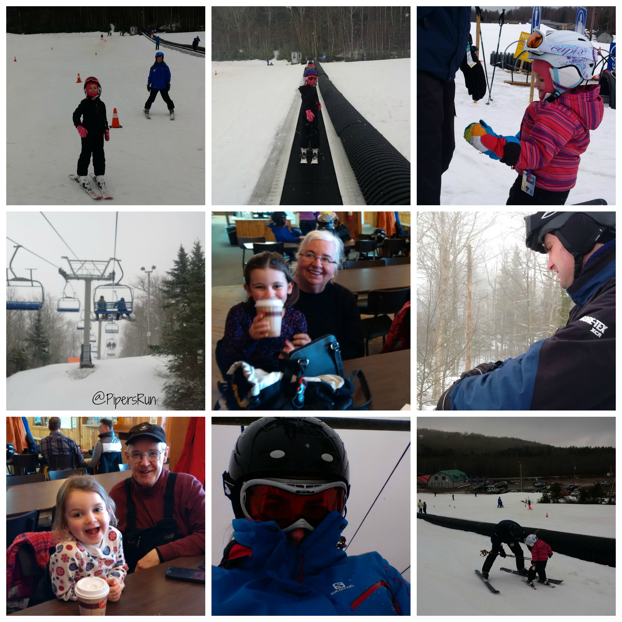 March Break ski trip PR