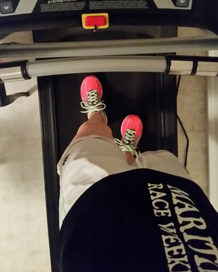 July 13 Treadmill run