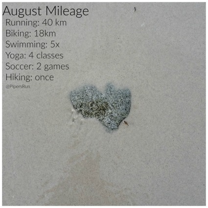 August Mileage
