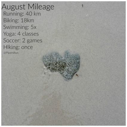 August Mileage