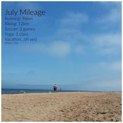 Julys Mileage