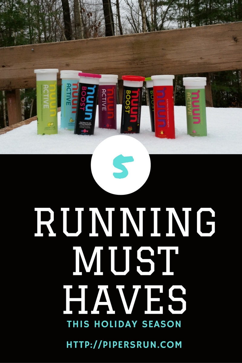 5 Running Must Haves This Holiday Season