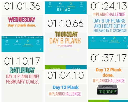 Plank Week 2