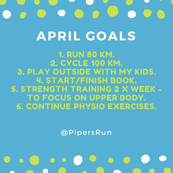 April Goals Pipers Run