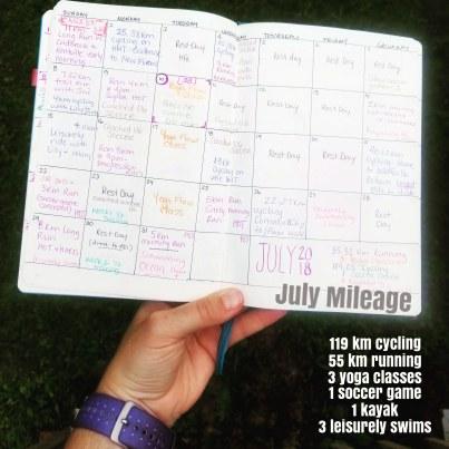 July mileage